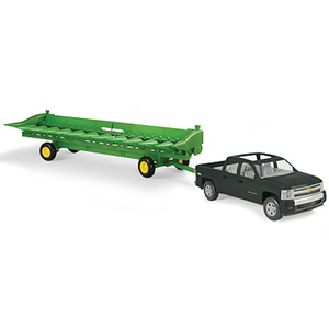 1/16 Big Farm Pickup with Corn Head