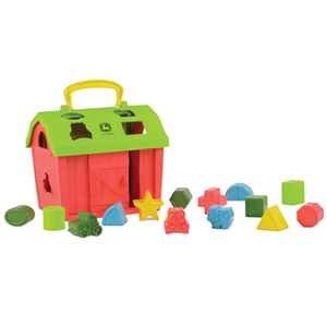 Barnyard Shape Sorter - Teaches Shapes & Animals