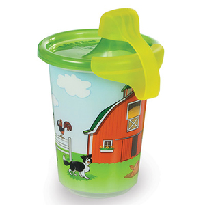 Take & Toss John Deere Sippy Cup - 3 Pack