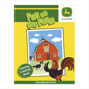 John Deere Fun on the Farm Coloring & Activity Book