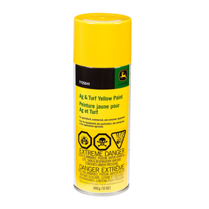 Ag and Turf Yellow Paint (aerosol)