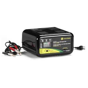 Automatic Battery Charger with Engine Start