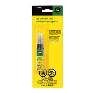 Paint Pen, yellow enamel