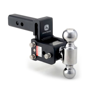 Adjustable Hitch Receiver >> Tow And Stow Adjustable Receiver Hitch 2 Ball Auto Outdoor