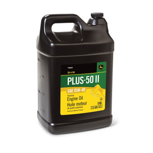 Plus-50 II™  API CK-4/SN - SAE 15W-40;  2.5 Gallon